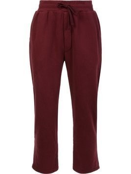 321 elasticated waistband sweatpants - Red