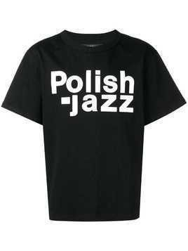 Misbhv Polish Jazz T-shirt - Nero