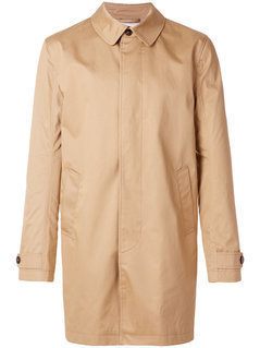 Closed - Buttoned Raincoat - Men - Cotton/Polyurethane/Viscose - S