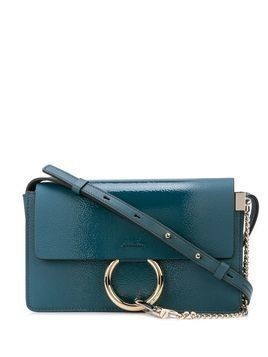 Chloé Faye small shoulder bag - Blue