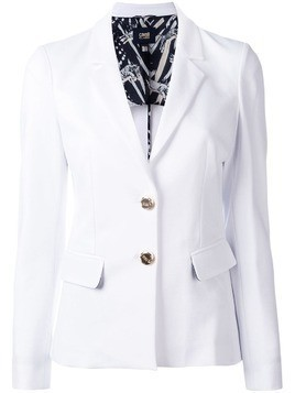 Cavalli Class tailored blazer - White