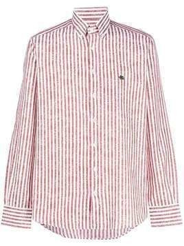 Etro striped print shirt - Red