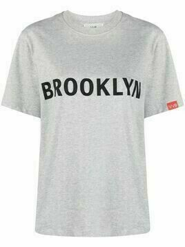 Victoria Victoria Beckham Brooklyn cotton T-shirt - Grey