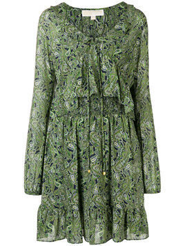 Michael Michael Kors printed flared dress - Green