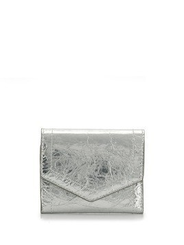 Maison Margiela metallic card holder - Silver