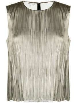 Vince sheer top - Metallic