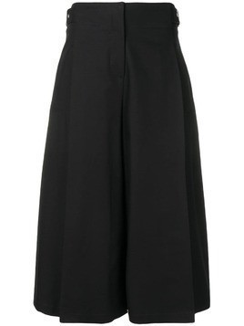 Jil Sander Navy wide pleat detailed trousers - Blue