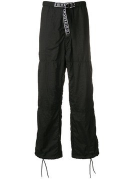 Givenchy logo track trousers - Black
