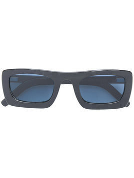 Delirious rectangular frame sunglasses - Black
