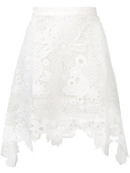 Antik Batik Thelma lace skirt - White