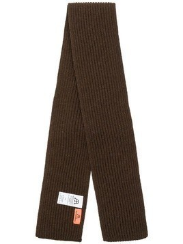 Andersen-Andersen knitted scarf - Brown