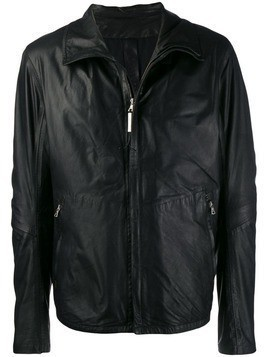 Isaac Sellam Experience zipped leather jacket - Black