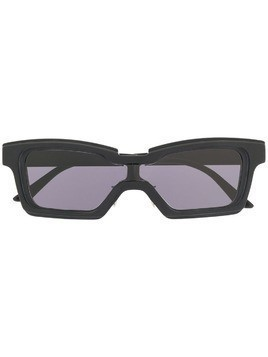 Kuboraum rectangular sunglasses - Black