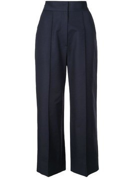 Dice Kayek high-waisted trousers - Blue