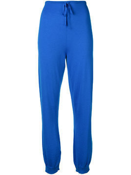Ports 1961 drawstring waist trousers - Blue