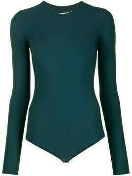 Maison Margiela long-sleeved bodysuit - Blue