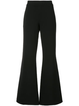 Co-Mun flared trousers - Black