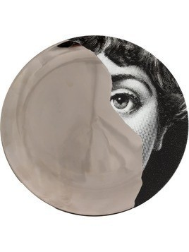 Fornasetti print T&V wall plate - Grey