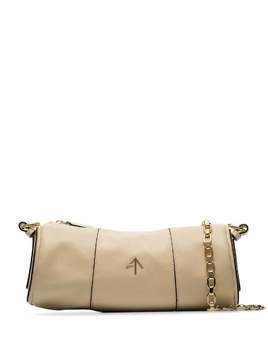 Manu Atelier Cylinder shoulder bag - NEUTRALS