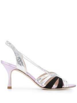 Gia Couture Diamante sandals - Metallic