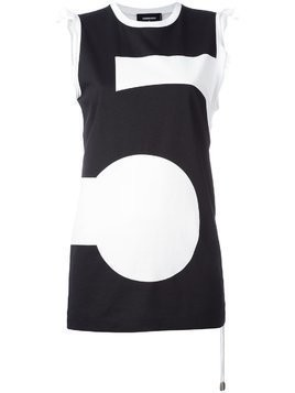 Dsquared2 #5 tank top - Black