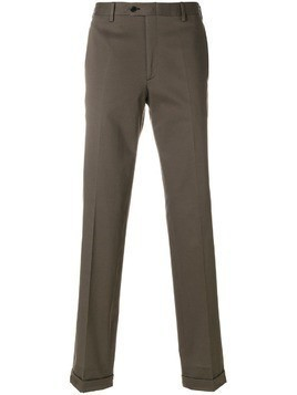 Brioni classic chinos - Brown