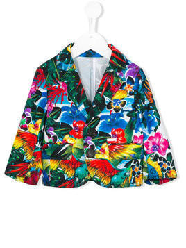 Dsquared2 Kids floral blazer - Multicolour