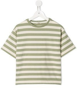 Fith striped T-shirt - Green