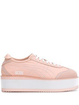 Gcds Mexico flatform sneakers - Pink