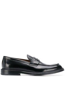 Doucal's classic loafers - Black