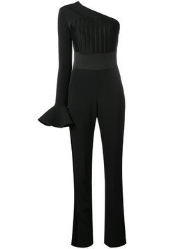 David Koma one shoulder jumpsuit - Black