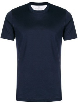Brunello Cucinelli crew neck T-shirt - Blue