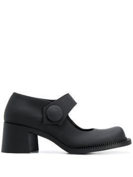 Maison Margiela round toe Mary Jane pumps - Black
