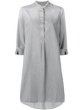 Fabiana Filippi 3/4 sleeve dress - Grey