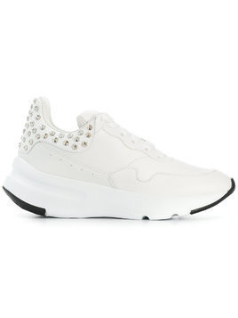 Alexander McQueen chunky sole sneakers - White