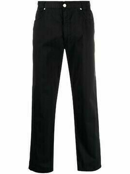 Versace Pre-Owned 1990s classic straight-leg trousers - Black