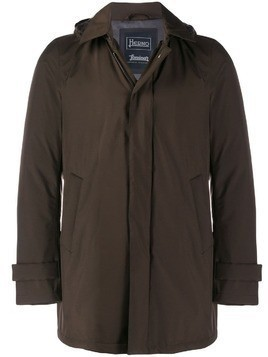 Herno hooded parka coat - Brown