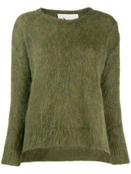8pm Denebola furry sweater - Green