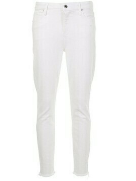 RtA mid rise skinny jeans - White