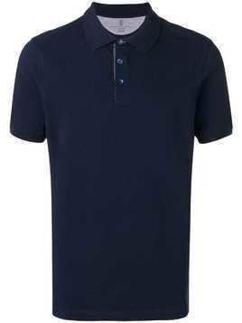 Brunello Cucinelli classic polo shirt - Blue