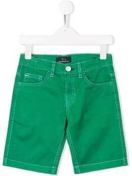 Harmont & Blaine Junior slim-fit shorts - Green