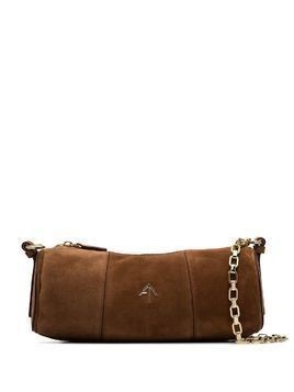 Manu Atelier Cylinder shoulder bag - Brown