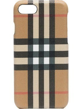 Burberry checked iphone 8 case - Nude & Neutrals