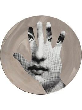 Fornasetti hand T&V wall plate - Grey