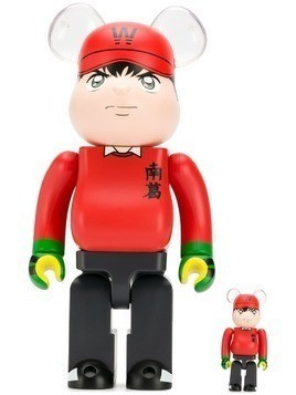 Medicom Toy Bearbrick Wakabayashi Genzo toy set - Red