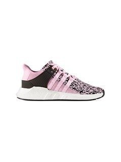 Adidas Originals Pink EQT Support ADV Sneakers - Pink&Purple