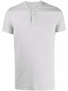 Majestic Filatures Henley short-sleeve T-shirt - Grey