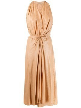 Nehera Dancy satin dress - NEUTRALS