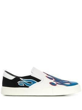 Amiri slip on sneakers - White