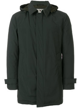 Kired hooded padded jacket - Green